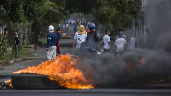 Nicaragua represión 2