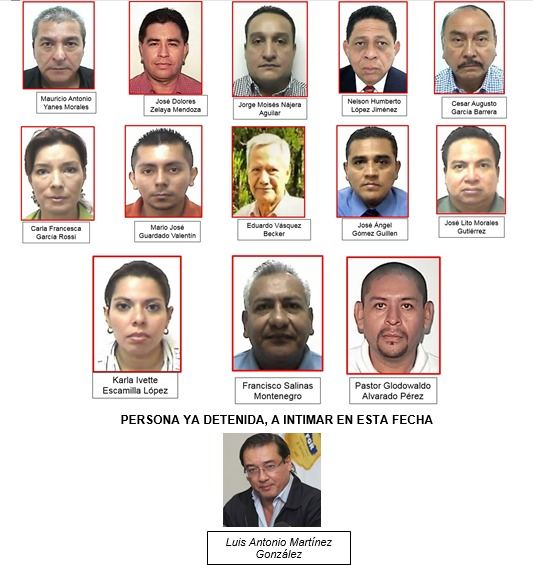Capturados mafia Funes-Rais