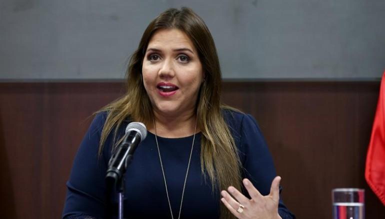María Alejandra Vicuña. Foto EFE,D1