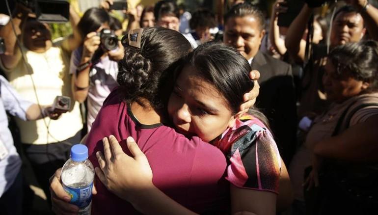 Dejan en libertad a Imelda Cortez, acusada de abortar a su hija