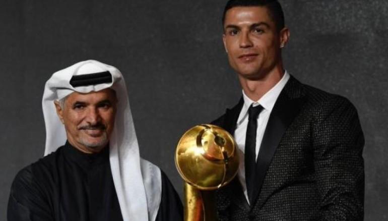 Cristiano Ronaldo, jugador del año en los Globe Soccer Awards
