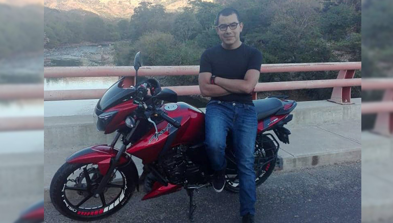 Emerson Danilo Castro Avelar, de 30 años. Foto cortesía/ Diario 1
