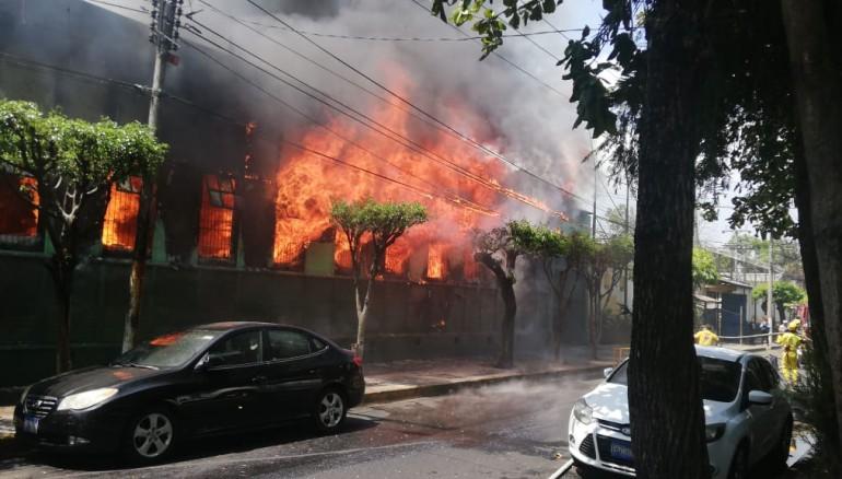 Foto Cuerpo de Bomberos de El Salvador