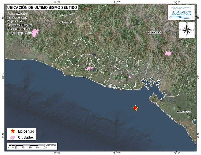 Imagen correspondiente al sismo de 5.9 grados