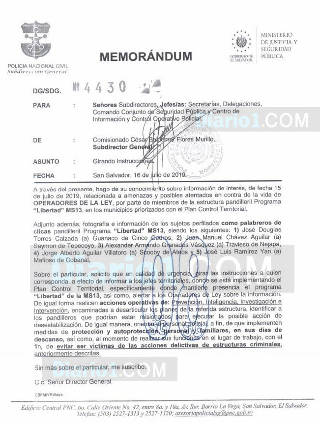 DOCUMENTO-MEMORANDUM