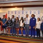 Estos son los uniformes de calor y desfile que portarán los atletas #TeamESA en los Juegos Panamericanos de Lima 2019. Foto de @TeamESA_