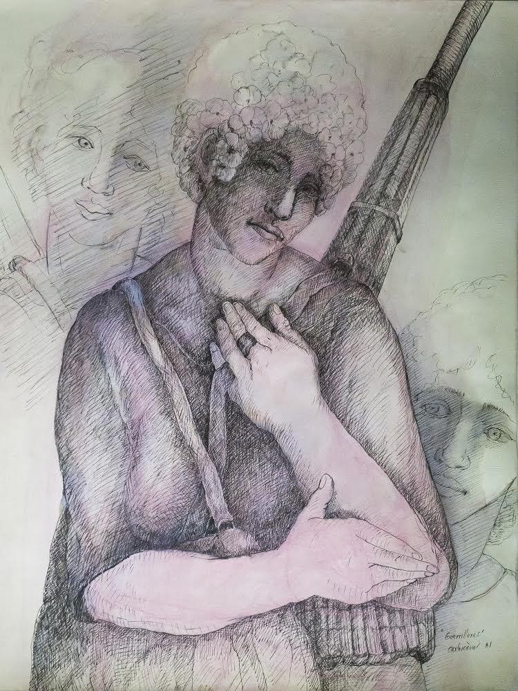 guerrilleras Carlos Cañas 1981 copia