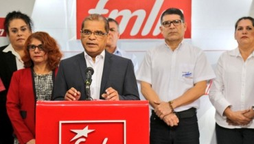 Foto tomada de @FMLNoficial