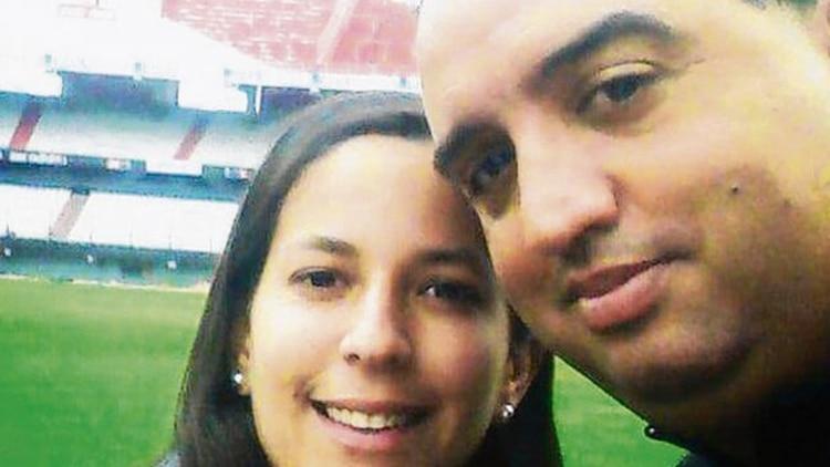 Maria Julia Asselborn y Luis Gabriel Sili eran profesores de educación física. Foto tomada de Infobae.