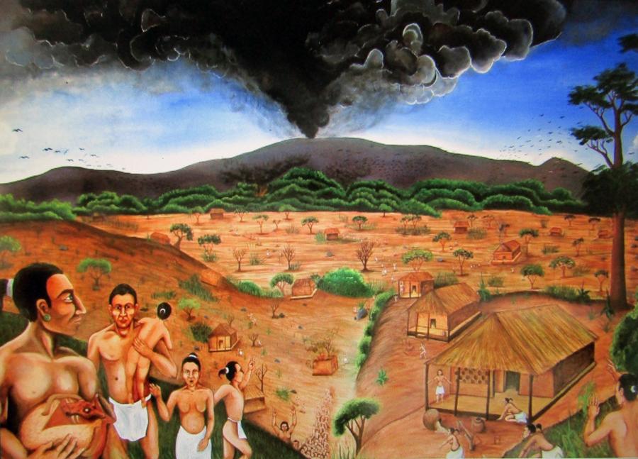 Joya de Ceren pintura Milton Doño MUPI copia