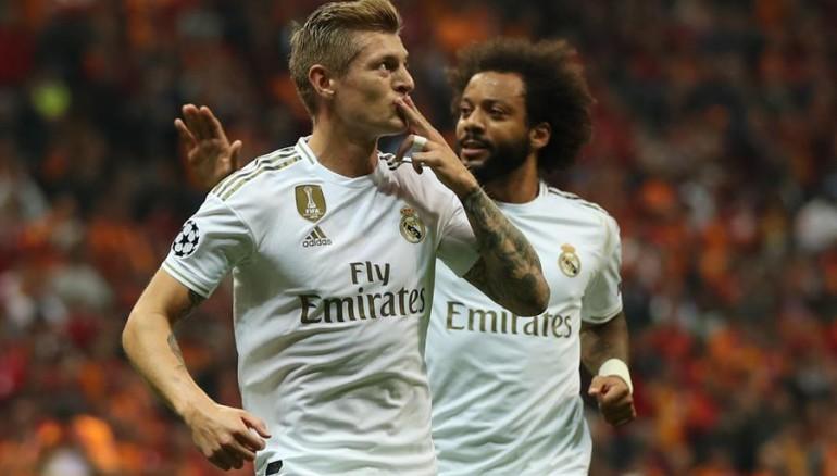 Un gol del alemán Toni Kroos, a los 18', le bastó al Real Madrid para salir vivo del Ali Sami Yen. /EFE