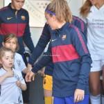El momento incómodo que vivió la capitana del Barcelona, Alexia Putellas. /Foto tomada de @LaluRAlbarran