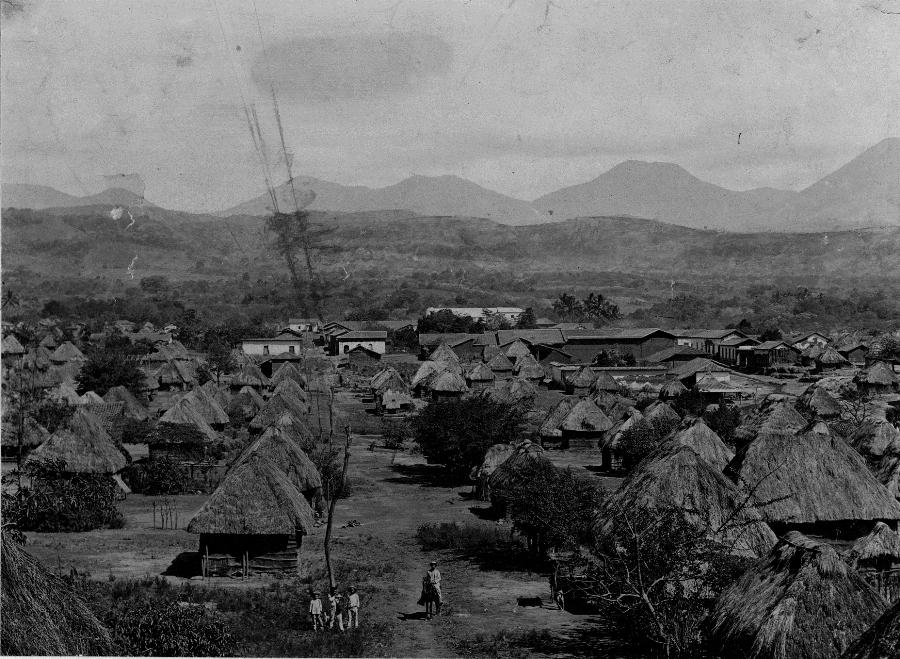 Foto de Carl V Hartman Nahuizalco entre 1896 1899 COLECCIÓN MUSEO DE LA PALABRA Y LA IMAGEN