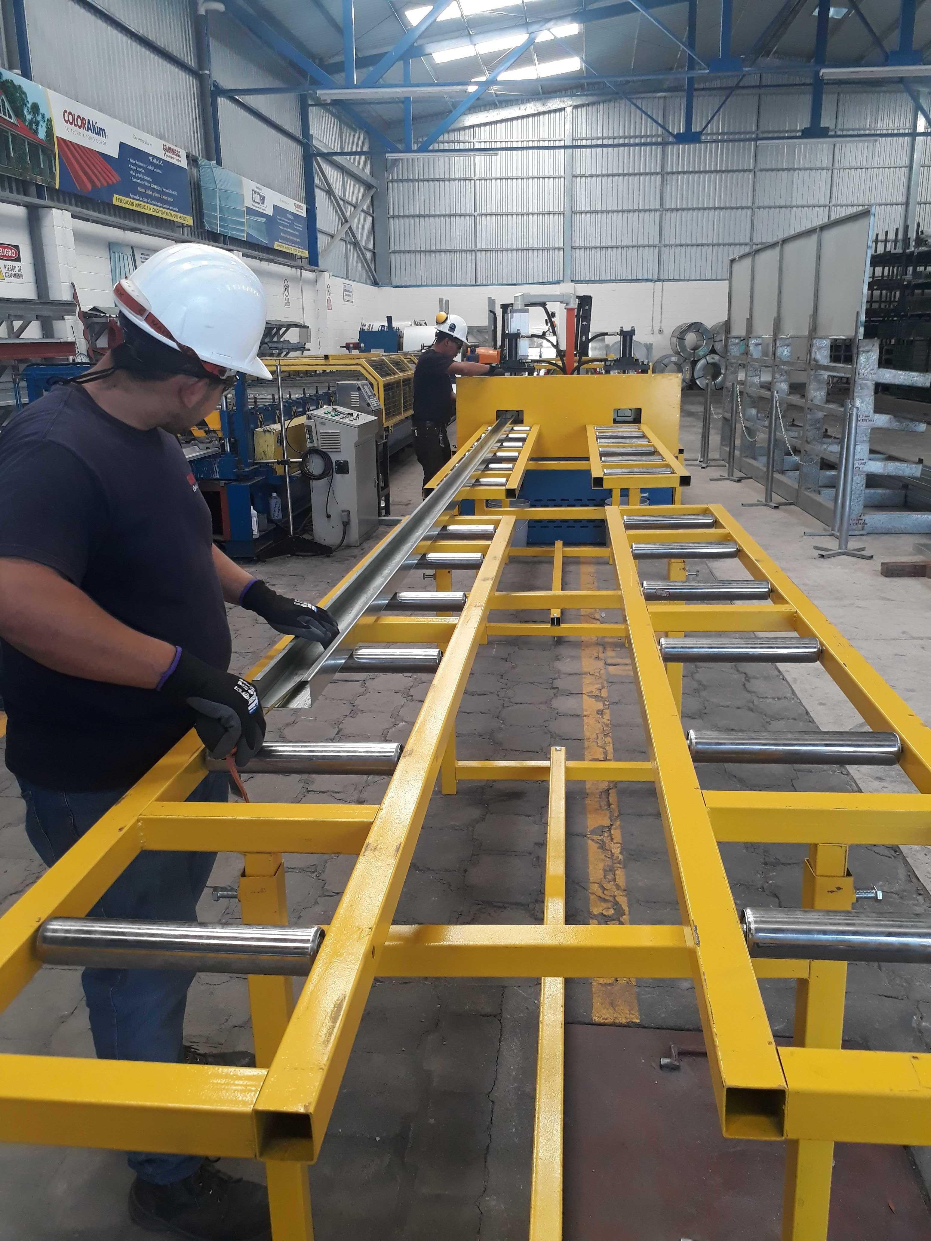 Servicio de fabricación inmediata a longitud exacta de Polín GHT