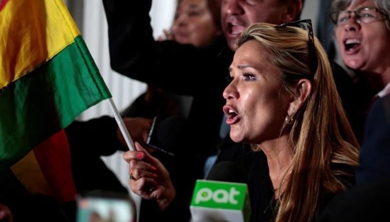 Presidenta interina Bolivia