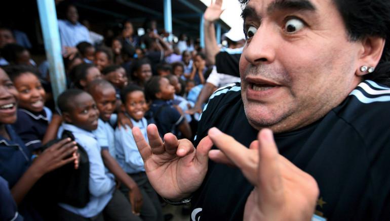 Diego Maradona reveló detalles de su encuentro secreto con Jennifer López