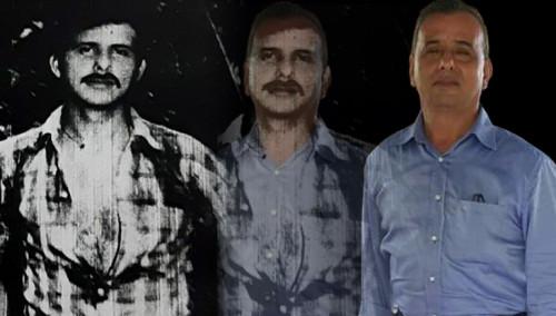 A la izquierda Santos Guevara Portillo cuando era joven; a la derecha, una foto actual.