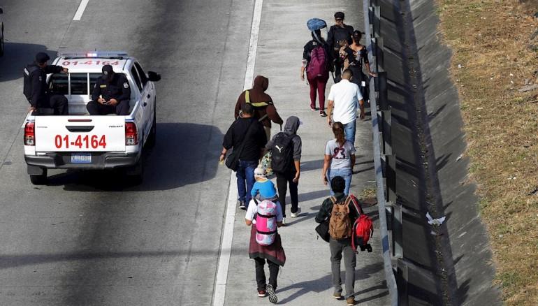 Más de 27.000 migrantes centroamericanos regresaron a sus países por la pandemia