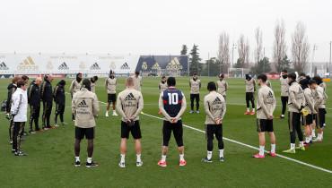El Real Madrid guardó un minuto de silencio en memoria a Kobe Bryant. /Foto Real Madrid