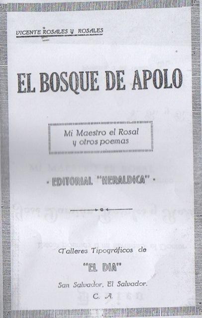 Libro de Rosales y Rosales