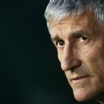 Quique Setién será presentado en las próximas horas, según medios españoles. /AFP