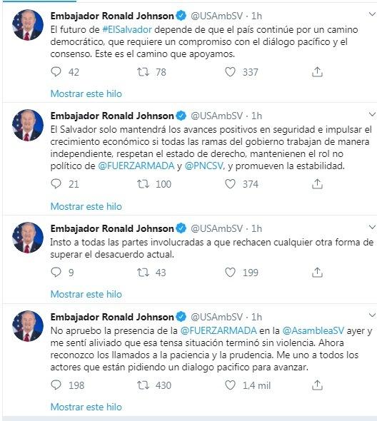 Embajador Johonson