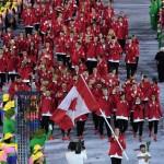 Delegación de Canadá que participó en los Juegos Olímpicos de Río 2016.