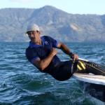 El velerista salvadoreño Enrique Arathoon. /Foto INDES