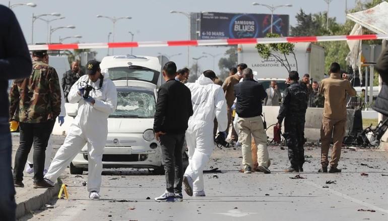 Atentado cerca de embajada de EU en Túnez