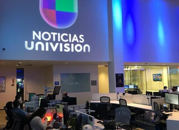 Por casos positivos de coronavirus Univisión cierra sus puertas