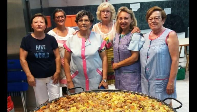 Voluntarias de la Asociación Cáritas de Vila-real.