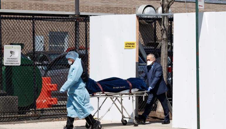 Protección Civil de Estados Unidos pide 100.000 bolsas para cadáveres