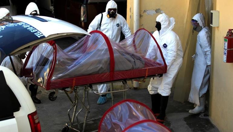 Coronavirus funeraria México