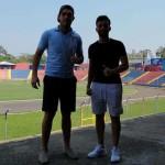 Diego Areco y Luis Rodríguez