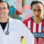 Silvia Meseguer, jugadora del Atlético de Madrid.
