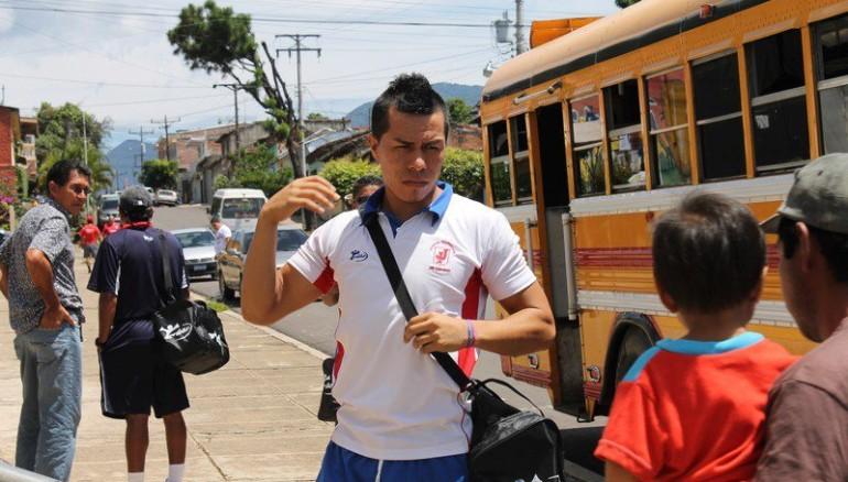 Óscar Antonio Portillo cuando militaba en el Juventud de San Juan Opico. /Foto Juventud Independiente