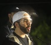 El mandatario dio una conferencia en la comunidad Nuevo Israel. /FOTO: D1, MIGUEL LEMUS