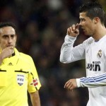 Iturralde González junto a Cristiano Ronaldo. /Foto EFE