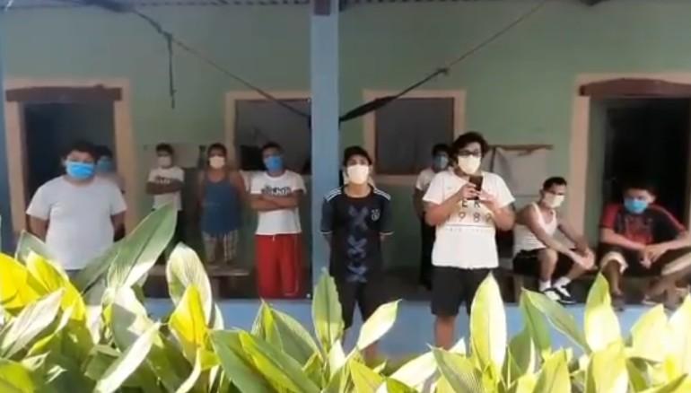 ALBERGADOS EN MONTE CARMELO
