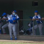 Fotografía tomada el pasado 9 de mayo en la que se registró a jugadores del equipo del departamento de Rio San Juan. /EFE