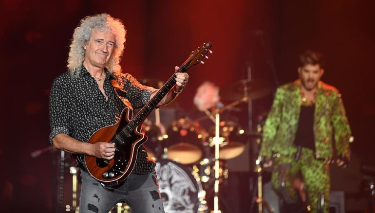 El guitarrista de Queen, Brian May. /FOTO: EFE