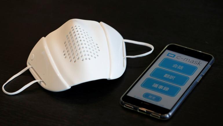 Inventan una mascarilla inteligente que protege y traduce al mismo tiempo — VÍDEO