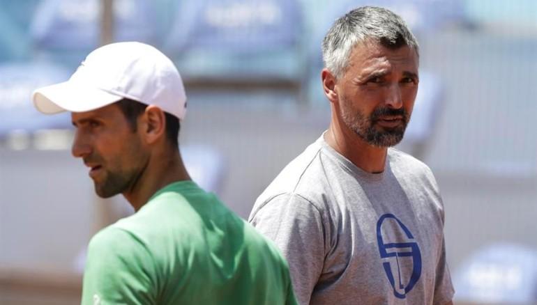 Goran Ivanisevic, entrenador de Djokovic. /EFE