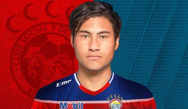 Dustin Corea fichó por el Club Xelajú.