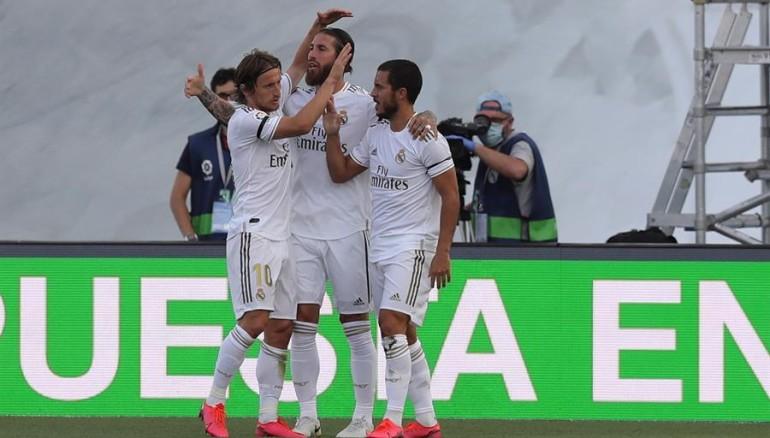 Real Madrid volvió a la actividad con una victoria sobre Eibar - Deportes