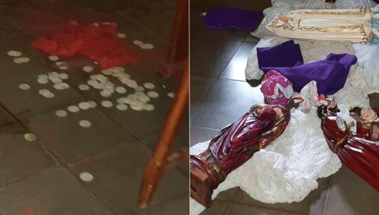 Atentado con explosivos daña venerada imagen en Catedral de Nicaragua