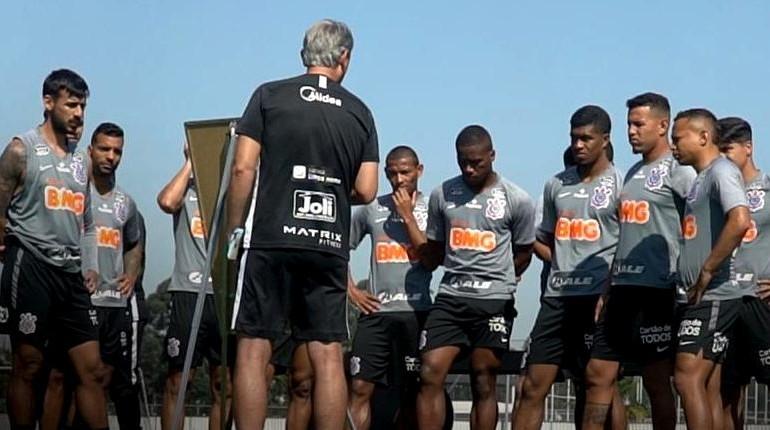 El Corinthians fue el equipo que más contagios reportó. /Foto @Corinthians