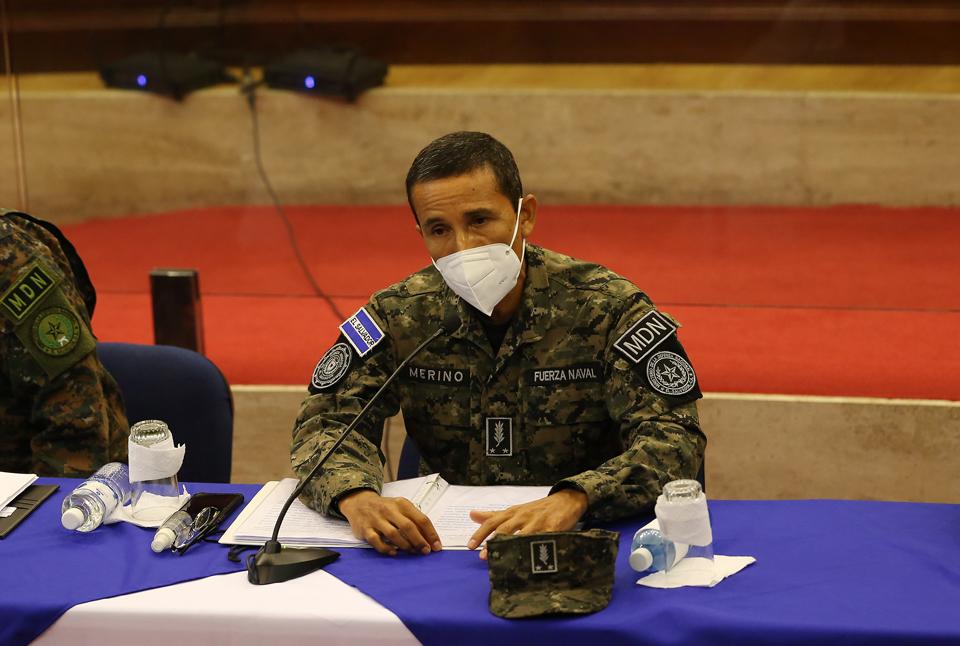 El ministro de Defensa, durante una comparecencia enla Asamblea Legislativa. FOTO: ARCHIVO D1/MIGUEL LEMUS