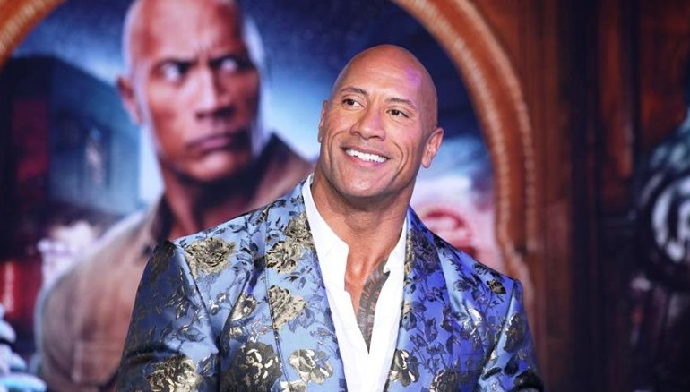Dwayne Johnson. /Foto EFE