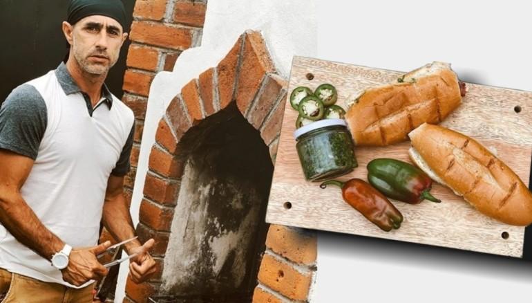 Alejandro Bentos ha montado un negocio de choripanes argentinos en Santa Ana.